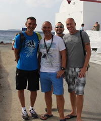 Spain, Italy & Balearic Islands gay group cruise