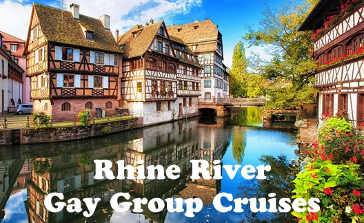 Castles of the Rhine Gay Group River Cruise 2019 Happy Gay Travel