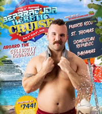 Bearracuda Heretic Caribbean Bears Cruise 2019