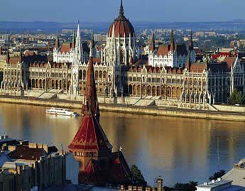 Exclusively gay Danube cruise - Budapest