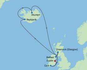 Ireland Dublin Ireland cruising map with gay