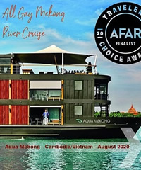 Mekong River gay cruise