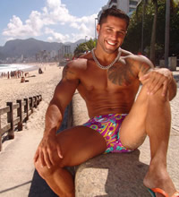 from Channing gay cruise south america