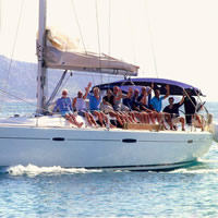 Greek Islands Nude Gay Sailing Cruise: Mykonos - Poros - Athens