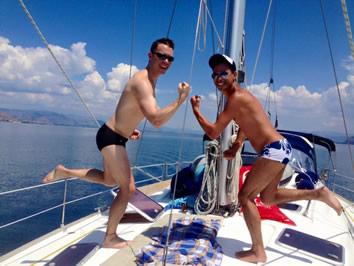 gay greek crusies