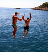 Greece Gay Men Sailing Cruise from Zakynthos to Athens