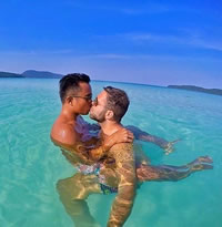 Phuket Thailand New Year gay cruise