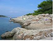 Jelsa nude beach Hvar