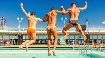 Gay men only European Cruise