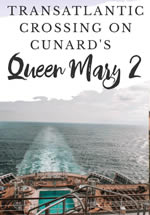 Westbound Gay Group Transatlantic Crossing on the Queen Mary 2 from Southampton to New York