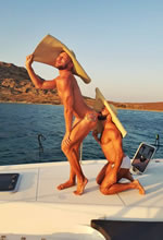 Ionian Greek Islands Gay Sailing cruise