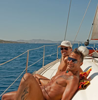 Dodecanese Islands (Kos) Greece Clothing Optional Gay Sailing Cruise