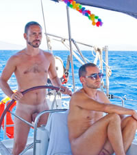 Greece Gay Nude Sailing Cruise