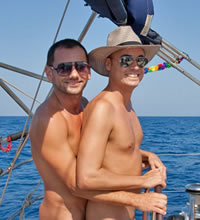 Rhodes Greece Gay Nude Sailing Cruise