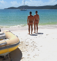 Australia Whitsunday Islands Nude Gay Sailing Cruise