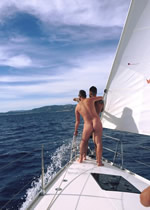 Croatia Kornati Islands Clothing Optional Gay Sailing Cruise