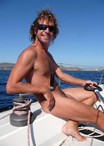 Sicily Aeolian Islands Clothing Optional Gay Sailing Cruise