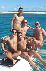 Naked Gay Caribbean cruise