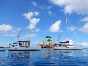 Seychelles Clothing Optional Gay Sailing Cruise - Happy