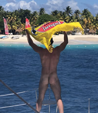St Martin Caribbean Naked Gay Sailing Cruise