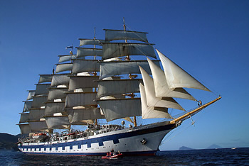 Mediterranean All-Gay Cruise Sailing on Royal Clipper