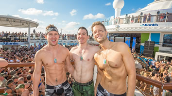 Atlantis caribbean Gay cruise parties