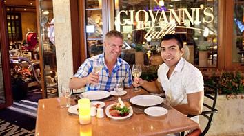 Atlantis Caribbean gay cruise dining