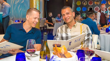 Med gay cruise dining