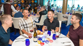 Atlantis gay cruise dining