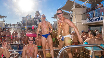 Atlantis European Gay cruise party