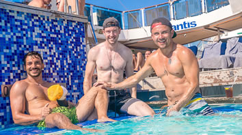 Mediterranean gay cruiise 2017