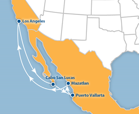 Mexican Riviera All-Gay Cruise 2019 Los Angeles to Mexico - Happy