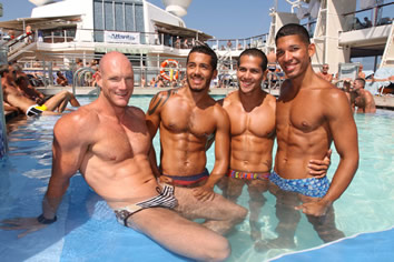 from Lane atlantis caribbean cruise gay