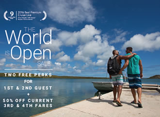 Celebrity Gay Group Cruises The World is Open Sale