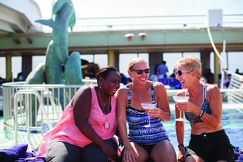 Cruise lesbian line olivia