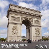 Paris to Normandy - France All-Lesbian Seine River Cruise 2016
