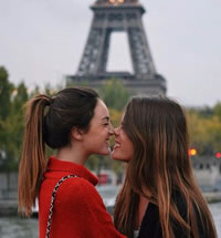 Paris France lesbian river cruise 2019