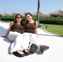 Exclusively lesbian resort in Turks and Caicos