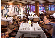 Koningsdam ship restaurant