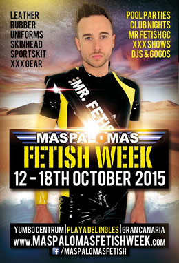 Maspalomas Fetish Week 2015