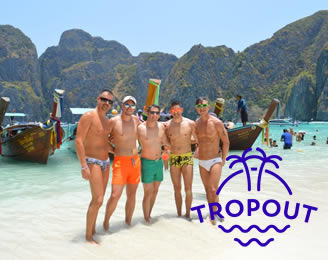 TropOut Thailand Phuket Gay Resort Week 2021