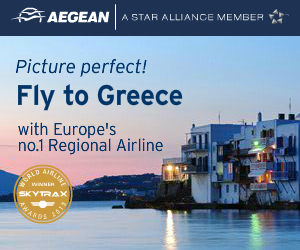Fly to Greece with Aegean Airlines