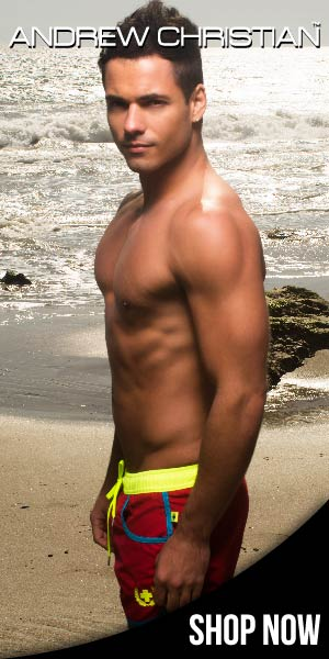Andrew Christian gay underwear & swimwear
