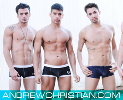 Andrew Christian sexy gay underwear & swimwear