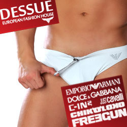Sexy Mens Beachwear and Swimwear at Dessue
