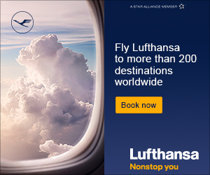 Fly in comfort with Lufthansa
