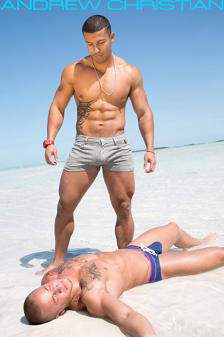 Andrew Christian swimwear