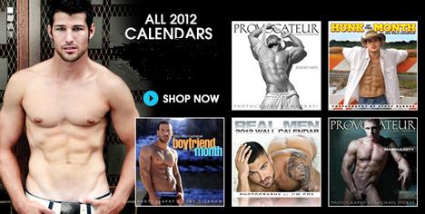 2012 Gay Calendar Store