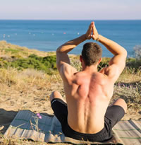 Almeria Andalusia gay yoga holidays