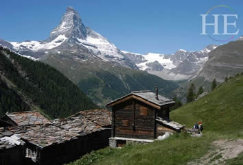 Our gay hiking trip introduces travelers to the beauty of the Valais region surrounding Zermatt